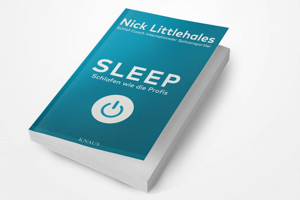 Schlafkampagne Markus Kamps Heimtextil 2018 Sleep Buchtitel
